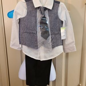 Four piece toddler tux